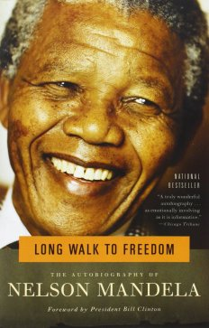 Long Walk to Freedom book